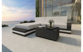 Canapé Lounge en rotin MESIA MINI v2
