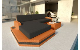 Divano Lounge MESIA MINI v2 in rattan