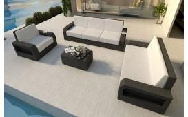 Rattan Lounge Set MESIA 3+2+1 v1