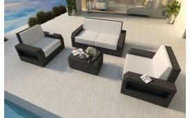 Rattan Lounge Set MESIA 2+1+1 v1