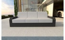 Rattan Lounge Sofa MESIA 3 Sitzer v1