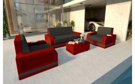 Rattan Lounge Set MESIA 2+1+1 v2