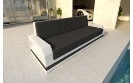 Canapé 3 places en rotin MESIA