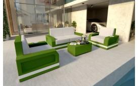 Rattan Lounge Set MESIA 2+1+1 v2 NATIVO™ Möbel Schweiz