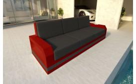 Rattan Lounge Sofa MESIA 3 Sitzer v2 NATIVO™ Möbel Schweiz