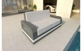 Rattan Lounge Sofa MESIA 2 Sitzer