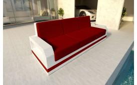 Rattan Lounge Sofa MESIA 3 Sitzer v2