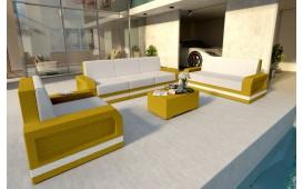 Set Lounge MESIA 3+2+1 v2 in rattan NATIVO™ Möbel Schweiz