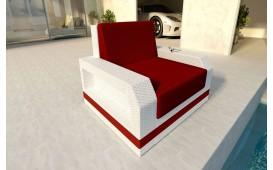 Rattan Lounge Sofa MESIA 1 Sitzer v2 NATIVO™ Möbel Schweiz