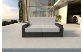 Rattan Lounge Sofa MESIA 2 Sitzer v1