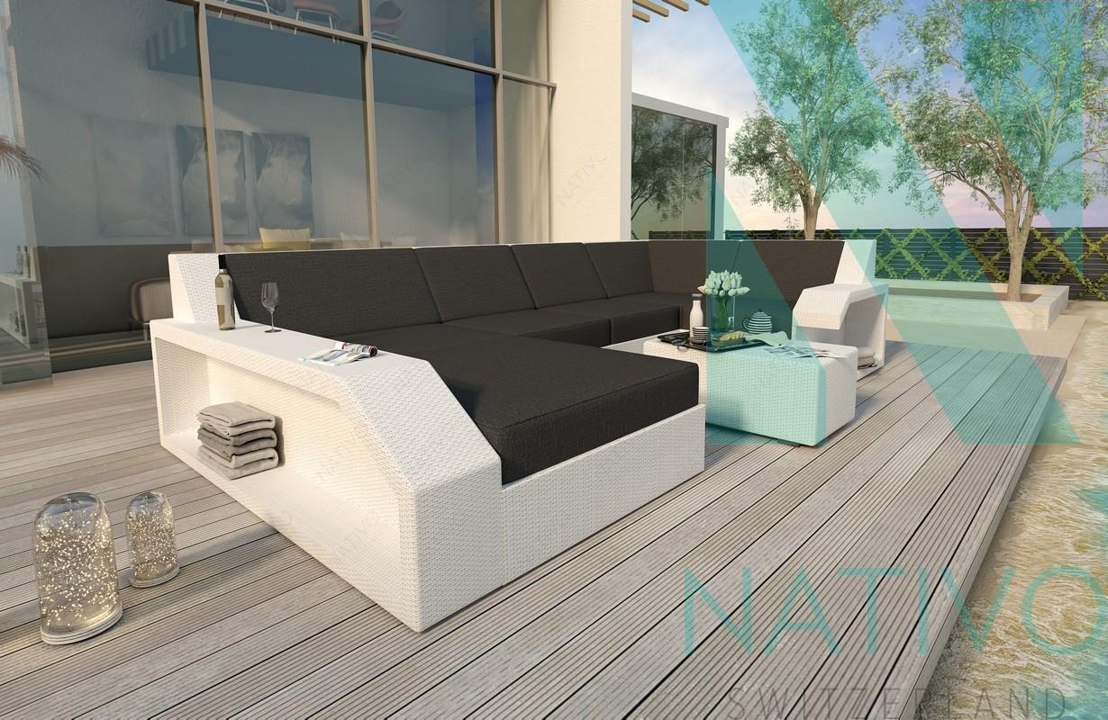 Rattan Sofa Lounge Modular MATIS XL von NATIVO Möbel
