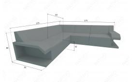 Designer Rattan Lounge Sofa MATIS CORNER NATIVO™ Möbel Schweiz