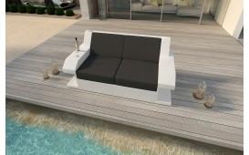 Rattan Lounge Sofa MATIS 2 Sitzer NATIVO™ Möbel Schweiz