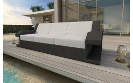 Rattan Lounge Sofa MATIS 3 Sitzer