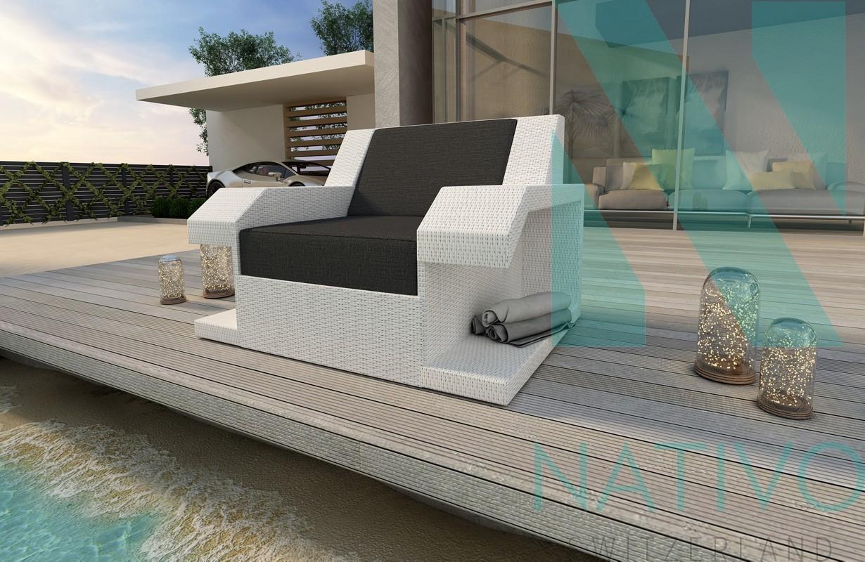 rattan lounge sofa matis 1 sitzer in rattan von nativo m bel. Black Bedroom Furniture Sets. Home Design Ideas
