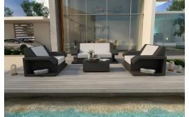 Set Lounge MATIS 2+1+1 in rattan NATIVO™ Möbel Schweiz