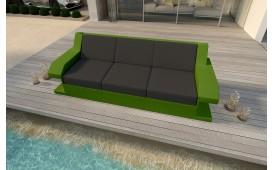 Rattan Lounge Sofa MATIS 3 Sitzer NATIVO™ Möbel Schweiz