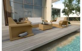 Rattan Lounge Set MATIS 2+1+1 NATIVO™ Möbel Schweiz