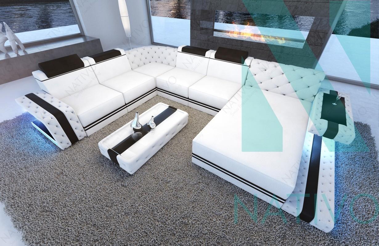 nativo m bel schweiz ledersofa imperial xxl online kaufen. Black Bedroom Furniture Sets. Home Design Ideas