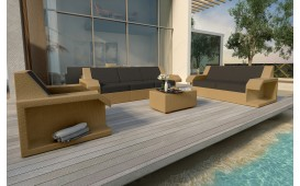 Rattan Lounge Set MATIS 3+2+1