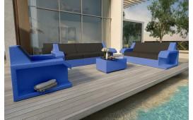 Set Lounge MATIS 3+2+1 in rattan NATIVO™ Möbel Schweiz