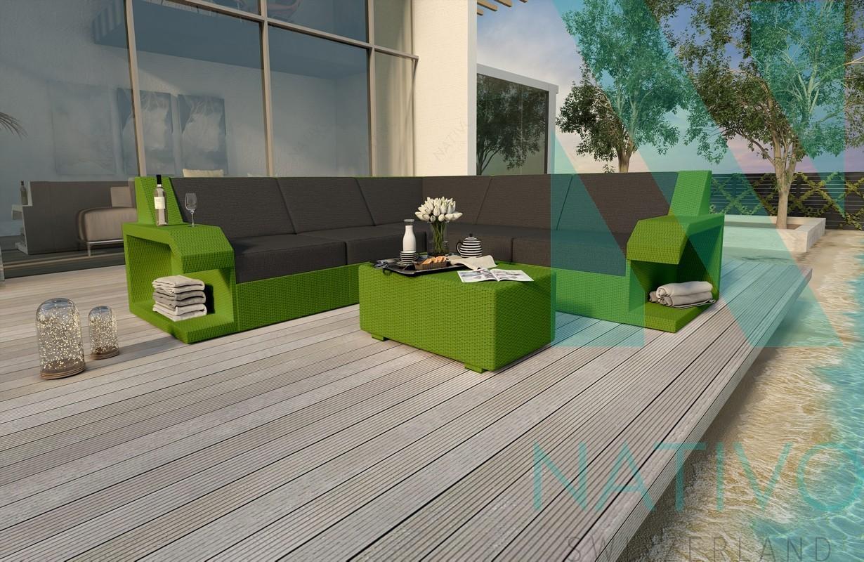 Rattan Sofa Lounge Modular Matis Corner Von Nativo M 246 Bel