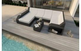 Divano Lounge MATIS XL in rattan