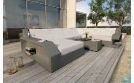 Designer Rattan Lounge Sofa MATIS XXL NATIVO™ Möbel Schweiz