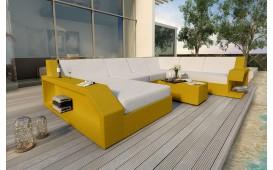 Divano Lounge MATIS XXL in rattan NATIVO™ Möbel Schweiz