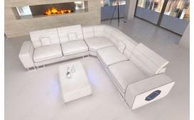 Divano di design GREGORY CORNER con illuminazione a LED