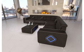 Canapé Design GREGORY CORNER avec éclairage LED