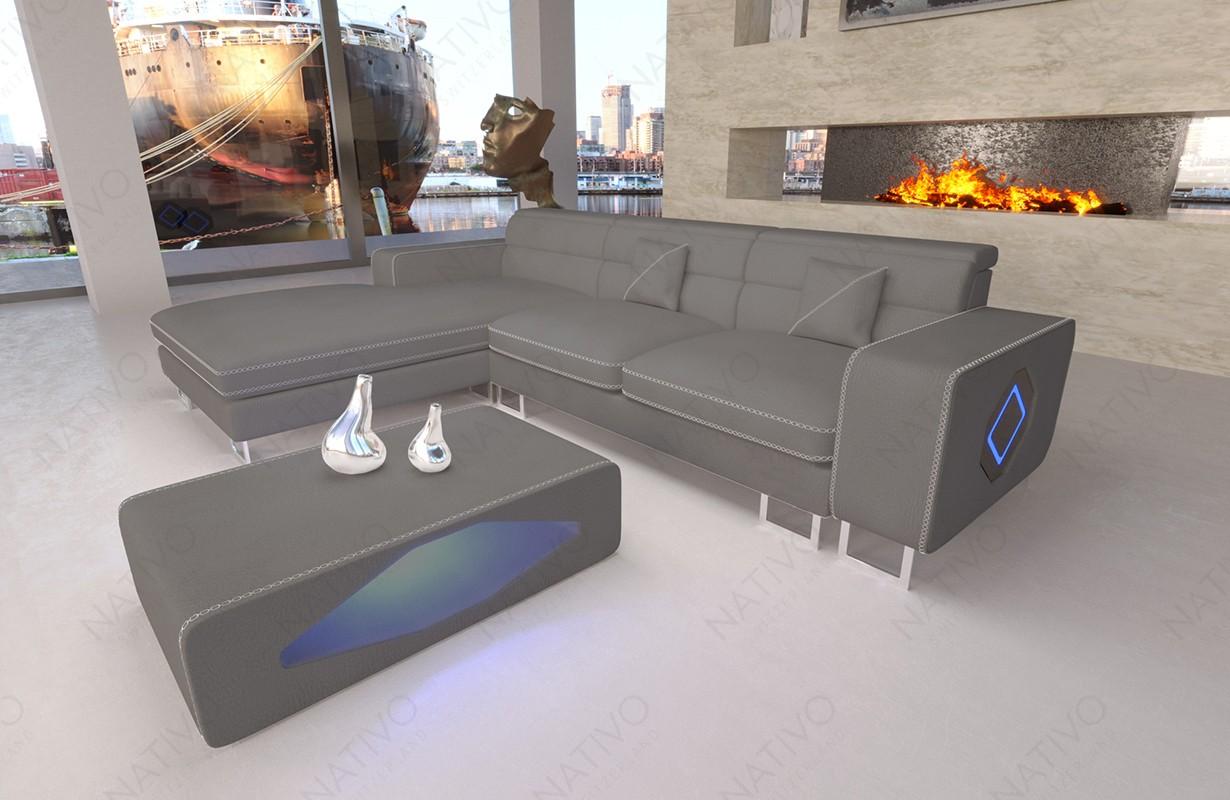 ledersofa gregory mini bei nativo m bel schweiz g nstig kaufen. Black Bedroom Furniture Sets. Home Design Ideas