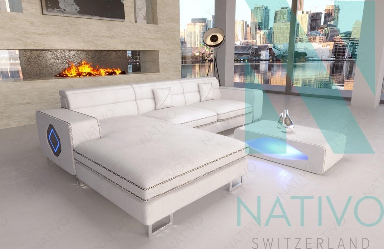 Ledersofa GREGORY MINI bei NATIVO Möbel Schweiz günstig kaufen