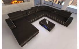 Designer Sofa GREGORY XXL mit LED Beleuchtung von NATIVO Möbel Schweiz