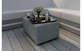 Designer Rattan Tisch CLERMONT