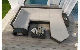 Designer Rattan Lounge Sofa CLERMONT XL v1