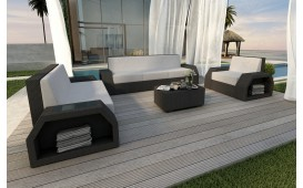 Rattan Lounge Set CLERMONT 3+2+1 v1