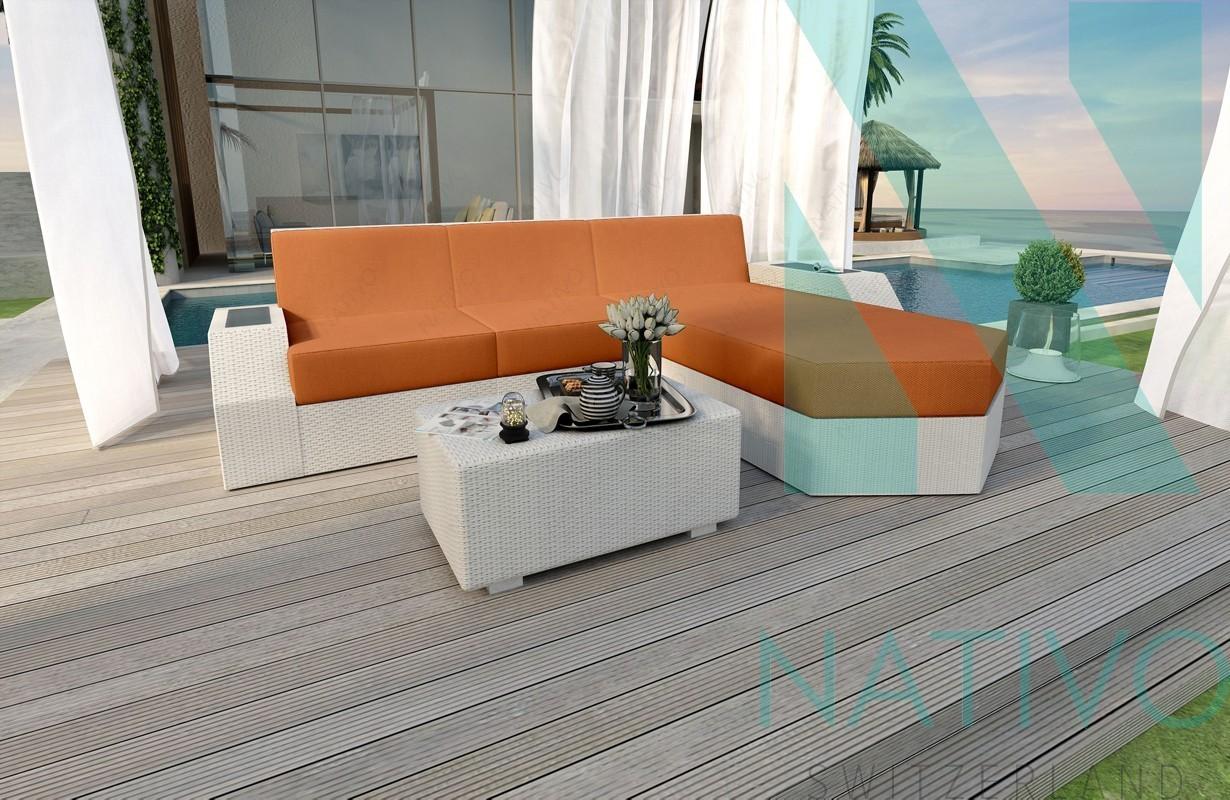 canap lounge clermont mini led nativo magasin de meubles. Black Bedroom Furniture Sets. Home Design Ideas