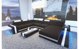 Designer Sofa IMPERIAL XXL mit LED Beleuchtung