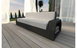 Rattan Lounge Sofa CLERMONT 3 Sitzer v1 NATIVO™ Möbel Schweiz