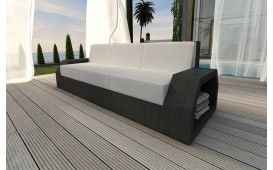 Rattan Lounge Sofa CLERMONT 3 Sitzer v1