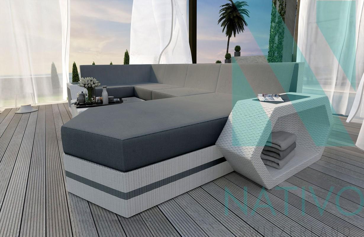 Rattan Sofa Lounge Modular CLERMONT XL von NATIVO Möbel