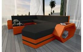 Divano Lounge CLERMONT XXL v2 in rattan NATIVO™ Möbel Schweiz