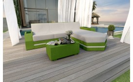 Designer Rattan Lounge Sofa CLERMONT MINI v2
