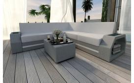 Designer Rattan Lounge Sofa CLERMONT CORNER v2 NATIVO™ Möbel Schweiz