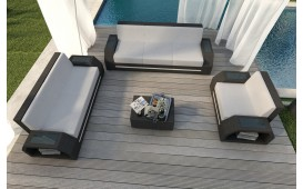 Rattan Lounge Set CLERMONT 3+2+1 v2 NATIVO™ Möbel Schweiz
