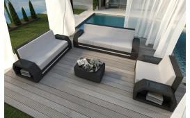Rattan Lounge Set CLERMONT 3+2+1 v2 NATIVO™ Möbel Schweiz