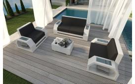 Set Lounge CLERMONT 2+1+1 v2 in rattan NATIVO™ Möbel Schweiz