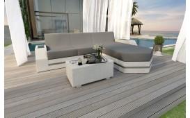 Canapé Lounge en rotin CLERMONT MINI