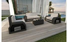 Rattan Lounge Set CLERMONT 2+1+1 v2 NATIVO™ Möbel Schweiz